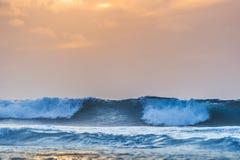Waves in ocean Stock Image
