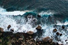 Waves in ocean Splashing Waves royalty free stock photos