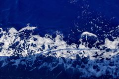 Waves in the ocean stock image