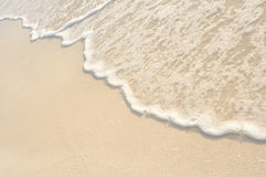 Free Waves On Shore Of White Sand Beach Royalty Free Stock Image - 20909296