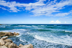 Waves On The Sea Royalty Free Stock Photography