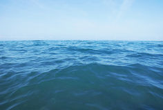 Waves in open sea Stock Photography