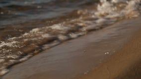Waves på floden lager videofilmer
