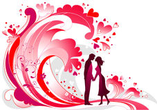 Waves of passion Stock Photos