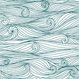Waves pattern Royalty Free Stock Photos