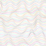Waves pattern Royalty Free Stock Photography
