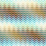 Waves pattern with a gradient Stock Image
