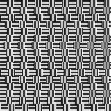 Waves pattern with line black and white Stock Photos