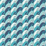 Waves pattern Stock Photo