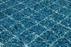 Waves in a pool Royalty Free Stock Images