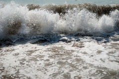 Waves. Powerful waves on a windy day Royalty Free Stock Photo