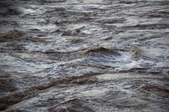 Rapids in water royalty free stock image