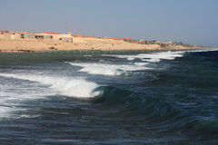 Waves on Red Sea Stock Images