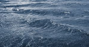 Waves on the river during a strong wind. Water texture_. Waves on the river during a strong wind. Water texture stock photos