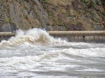 Waves at road Royalty Free Stock Photography