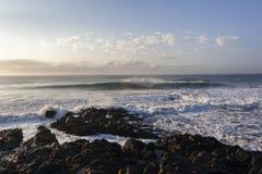 Waves Rocks Horizon Landscape Royalty Free Stock Image