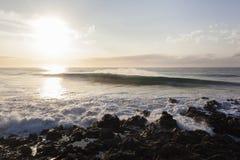 Waves Rocks Landscape Royalty Free Stock Photo