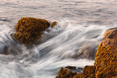 Waves And Rocks Stock Photos