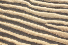Waves in the sand Royalty Free Stock Images