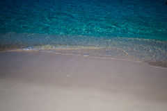 Waves & Sand Background Royalty Free Stock Images