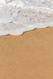 Waves and sand Royalty Free Stock Images