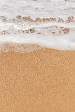 Waves and sand Royalty Free Stock Image