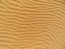 Waves of sand Royalty Free Stock Photo