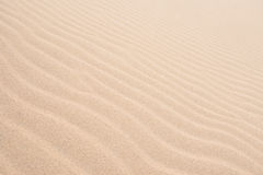 Waves on sand dunes  in Chaves beach Praia de Chaves in Boavist Stock Photos