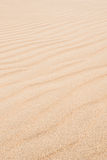 Waves on sand dunes  in Chaves beach Praia de Chaves in Boavist Royalty Free Stock Photography