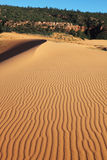 The waves on the sand dunes U.S. Stock Photography
