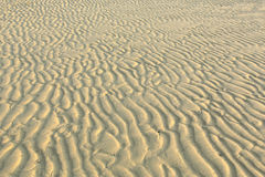 Waves of sand. Royalty Free Stock Images