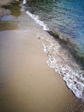Waves, sand, sea. Waves, sand, sea in Montenegro Stock Photography