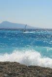 Waves in sea Stock Photos