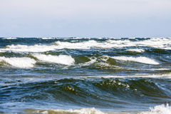 The waves Royalty Free Stock Photography
