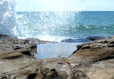 Waves in the Sea Royalty Free Stock Photo