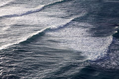 Waves in the sea. Ripples of waves in the sea Stock Images