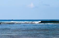 Waves at sea Royalty Free Stock Images