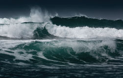 Waves in the sea Royalty Free Stock Images