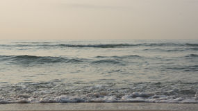 The waves of the sea. The waves of the sea at HuaHin Thailand Royalty Free Stock Images