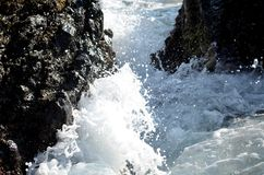 Waves of the sea Royalty Free Stock Photography