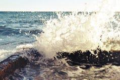 WAVES stock photo
