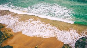 Sea and sand background Royalty Free Stock Photography