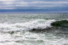 Waves at sea Stock Image