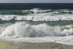 Waves and sea surf Royalty Free Stock Photography