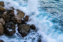 Waves of the sea. Royalty Free Stock Images