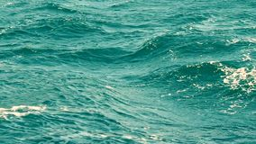 Waves in the sea stock footage