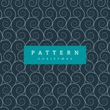Seamless pattern White Waves On Dark Blue. Waves seamless border pattern. May be used like an Invitation card design. Vector illustration with sea waves stock illustration