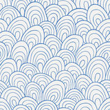 Waves seamless pattern Royalty Free Stock Photo