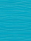 Waves - seamless pattern. Seamless pattern with styled waves Stock Photography
