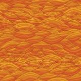 Waves seamless pattern Stock Image
